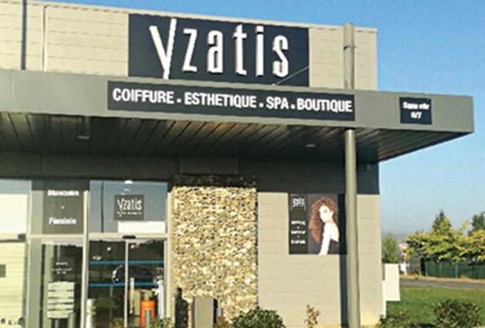 Nos salons yzatis - Salon de coiffure saint etienne ...